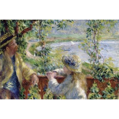 Puzzle Grafika-Kids-00187 Renoir Auguste: Près du Lac, 1879