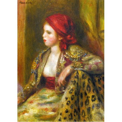 Puzzle Grafika-Kids-00189 Renoir Auguste: Odalisque, 1895