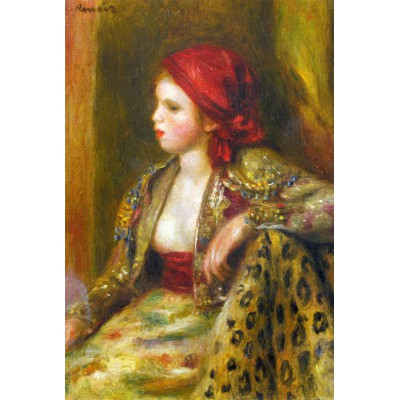 Puzzle Grafika-Kids-00190 Renoir Auguste: Odalisque, 1895