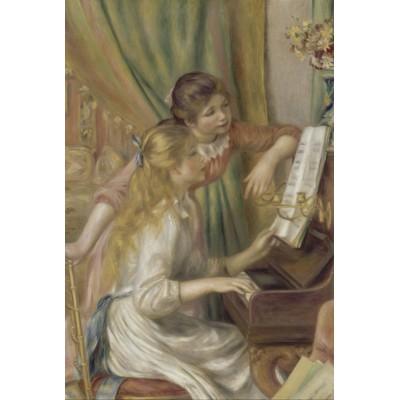 Puzzle Grafika-Kids-00193 Auguste Renoir: Jeunes filles au piano, 1892