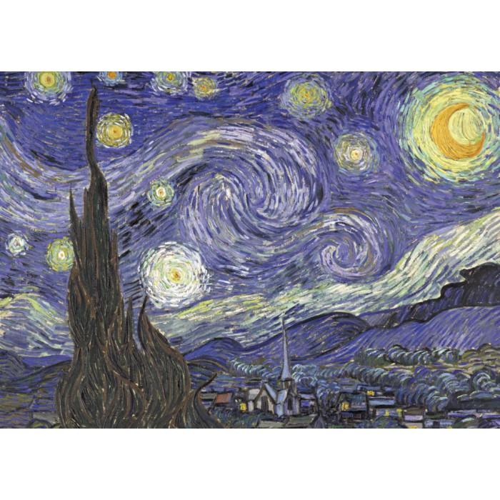 Magnetische Teile - Vincent van Gogh, 1889