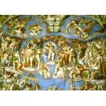 Puzzle  Grafika-Kids-00225 Magnetische Teile - Michelangelo: Das jüngste Gericht