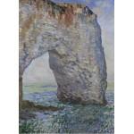Puzzle  Grafika-Kids-00232 Magnetische Teile - Claude Monet: Le Manneporte à Étretat, 1886