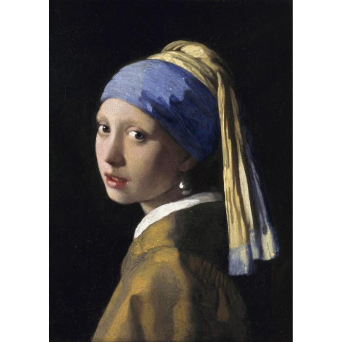 Magnetische Teile - Vermeer Johannes: Das Mädchen mit dem Perlenohrring, 1665