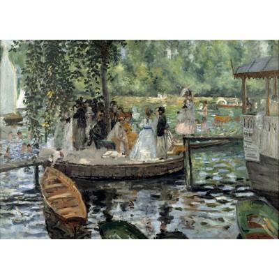 Puzzle Grafika-Kids-00258 Magnetische Teile - Auguste Renoir: La Grenouillère, 1869