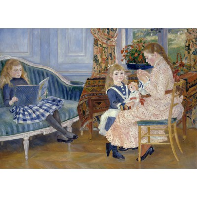 Puzzle Grafika-Kids-00260 Magnetische Teile - Auguste Renoir: L'après-midi des enfants à Wargemont, 1884