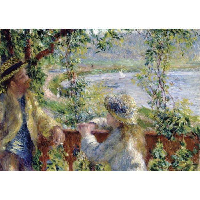 Magnetische Teile - Renoir Auguste: Près du Lac, 1879