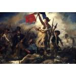 Puzzle  Grafika-Kids-00285 XXL Teile - Eugène Delacroix: Die Freiheit führt das Volk, 1830