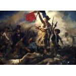 Puzzle  Grafika-Kids-00286 Eugène Delacroix: Die Freiheit führt das Volk, 1830