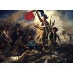 Puzzle  Grafika-Kids-00289 Eugène Delacroix: Die Freiheit führt das Volk, 1830