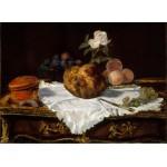 Puzzle  Grafika-Kids-00311 Edouard Manet - La Brioche, 1870