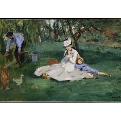 Puzzle Grafika-Kids-00318 Edouard Manet - 1874
