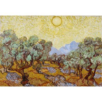 Puzzle Grafika-Kids-00340 Vincent van Gogh: Olivenbäume, 1889