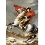 Puzzle  Grafika-Kids-00351 Jacques-Louis David: Bonaparte beim Überschreiten der Alpen am Großen Sankt Bernhard