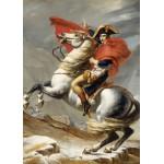 Puzzle  Grafika-Kids-00352 Magnetische Teile - Jacques-Louis David: Bonaparte beim Überschreiten der Alpen am Großen Sankt Bern