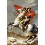 Puzzle  Grafika-Kids-00353 XXL Teile - Jacques-Louis David: Bonaparte beim Überschreiten der Alpen am Großen Sankt Bernhard