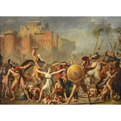 Puzzle Grafika-Kids-00354 Jacques-Louis David: The Intervention of the Sabine Women, 1799