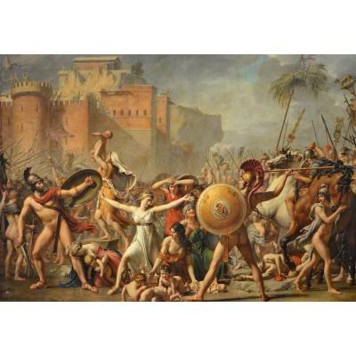 Puzzle Grafika-Kids-00355 Jacques-Louis David: The Intervention of the Sabine Women, 1799