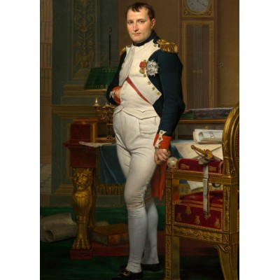 Puzzle Grafika-Kids-00361 Jacques-Louis David: The Emperor Napoleon in his study at the Tuileries, 1812