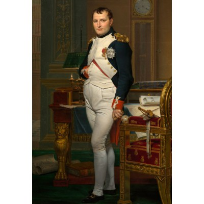 Puzzle Grafika-Kids-00363 XXL Teile - Jacques-Louis David: The Emperor Napoleon in his study at the Tuileries, 1812