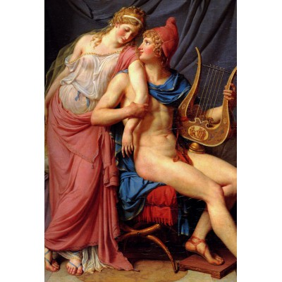 Puzzle Grafika-Kids-00368 XXL Teile - Jacques-Louis David: The Loves of Paris and Helen, 1788
