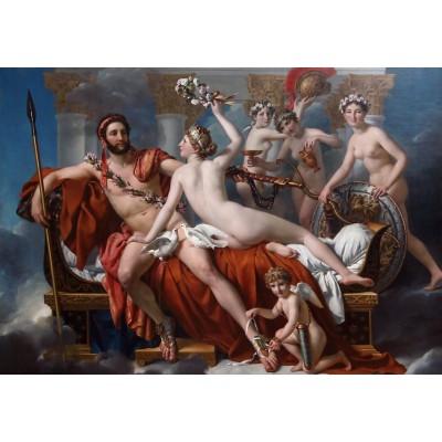 Puzzle Grafika-Kids-00370 Jacques-Louis David: Mars entwaffnet durch Venus und die Grazien, 1824