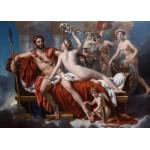Puzzle  Grafika-Kids-00371 Jacques-Louis David: Mars entwaffnet durch Venus und die Grazien, 1824