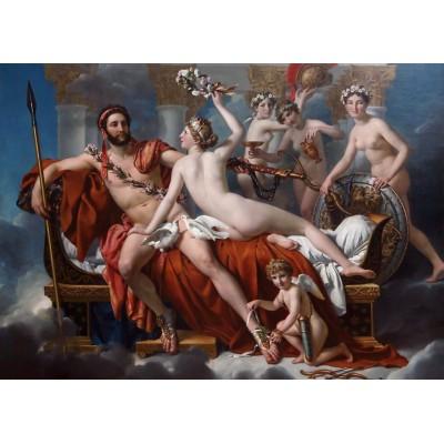 Puzzle Grafika-Kids-00372 Magnetische Teile - Jacques-Louis David: Mars entwaffnet durch Venus und die Grazien, 1824