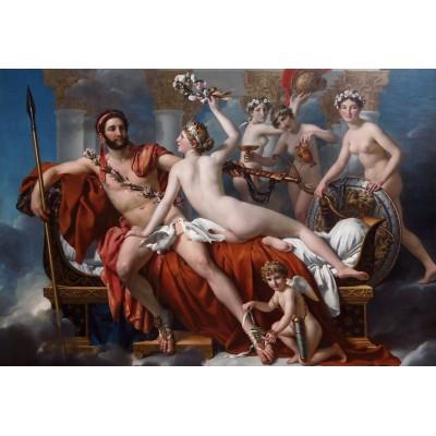 Puzzle Grafika-Kids-00373 XXL Teile - Jacques-Louis David: Mars entwaffnet durch Venus und die Grazien, 1824