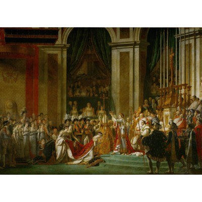 Puzzle Grafika-Kids-00374 Jacques-Louis David: Die Krönung Napoleons I, 1805-1807