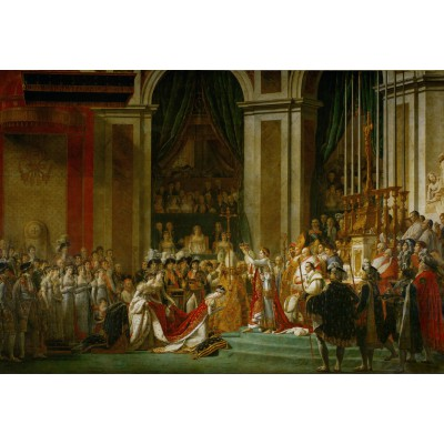 Puzzle Grafika-Kids-00378 XXL Teile - Jacques-Louis David: Die Krönung Napoleons I, 1805-1807