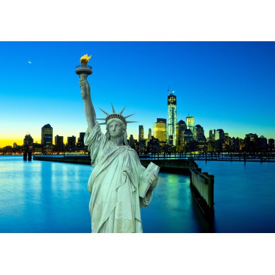 Puzzle Grafika-Kids-00385 New York City bei Nacht, USA