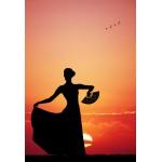 Puzzle  Grafika-Kids-00393 XXL Teile - Flamenco at Sunset
