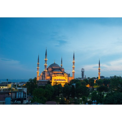 Puzzle Grafika-Kids-00406 Blaue Moschee, Türkei