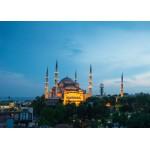 Puzzle  Grafika-Kids-00407 Magnetische Teile - Blaue Moschee, Türkei