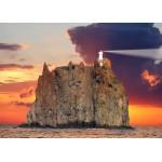 Puzzle  Grafika-Kids-00412 Magnetische Teile - Stromboli Lighthouse, Italy