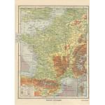 Puzzle  Grafika-Kids-00417 Magnetische Teile - Frankreich physisch - Larousse, 1925