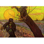 Puzzle  Grafika-Kids-00420 Van Gogh: Der Säer, 1888