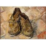 Puzzle  Grafika-Kids-00436 Magnetische Teile - Van Gogh: Shoes, 1888
