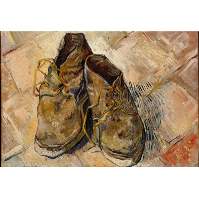 Puzzle Grafika-Kids-00437 XXL Teile - Van Gogh: Shoes, 1888