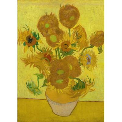 Puzzle Grafika-Kids-00451 Magnetische Teile - Van Gogh: Sonnenblumen,1887