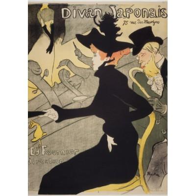 Puzzle Grafika-Kids-00454 Henri de Toulouse-Lautrec: Divan Japonais, 1892-1893