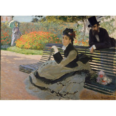 Puzzle Grafika-Kids-00466 Claude Monet: Camille Monet, 1873