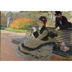 Puzzle  Grafika-Kids-00467 Claude Monet: Camille Monet, 1873