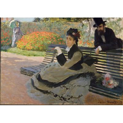 Puzzle Grafika-Kids-00469 Magnetische Teile - Claude Monet: Camille Monet, 1873