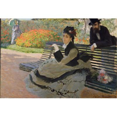 Puzzle Grafika-Kids-00470 XXL Teile - Claude Monet: Camille Monet, 1873