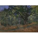 Puzzle  Grafika-Kids-00474 Magnetische Teile - Claude Monet: Fontainebleau, 1865