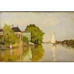 Puzzle  Grafika-Kids-00484 XXL Teile - Claude Monet: Houses on the Achterzaan, 1871