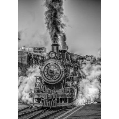 Puzzle Grafika-Kids-00590 Dampflokomotive