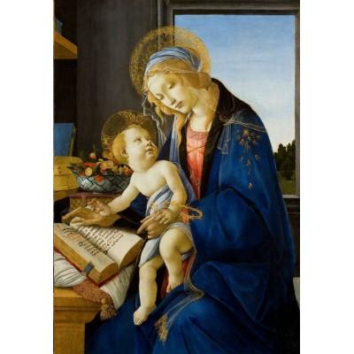 Puzzle Grafika-Kids-00697 Sandro Botticelli: Madonna des Buches, 1480